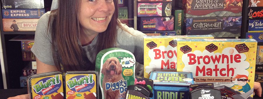 Molly with Educational Insights games