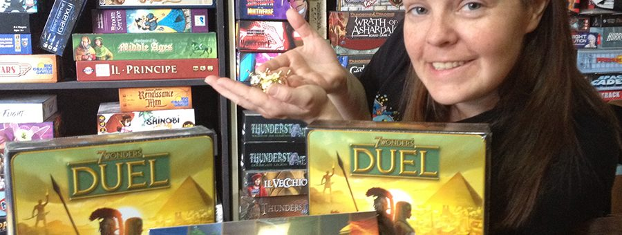 Molly with 7 Wonders Duel