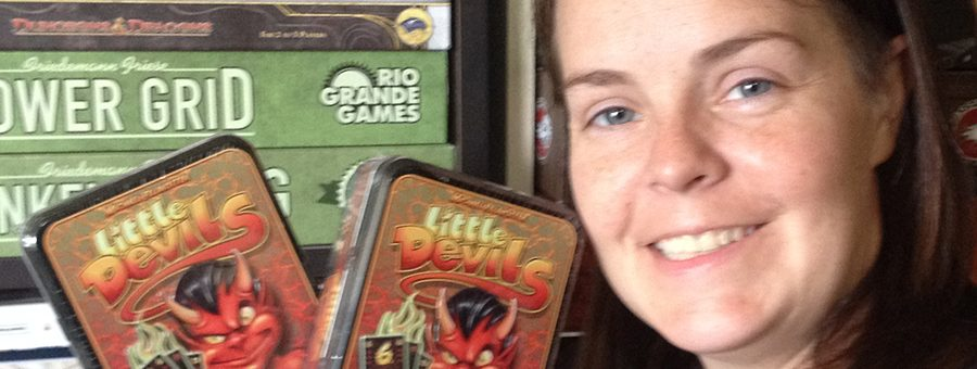Molly with Stronghold Games donation