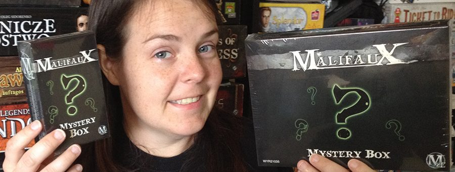 Molly with Wyrd Miniatures donations