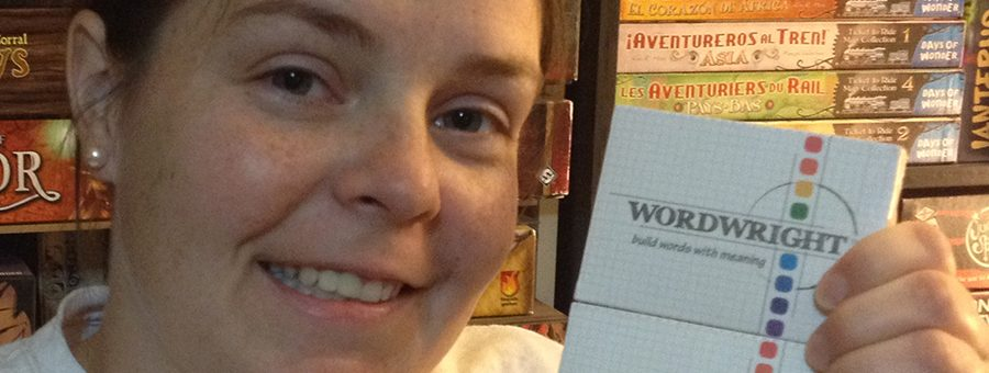 Molly with two copies of WordWright