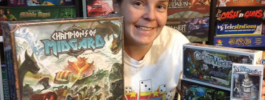 Molly with Grey Fox Games donations