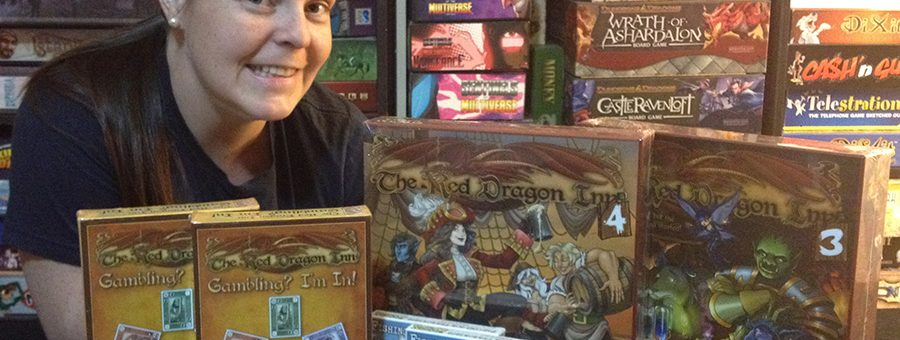 Molly with Slugfest Games donations