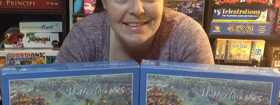 Molly with Trafalgar Editions donations