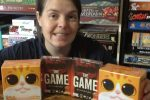 Molly with IDW Games donation