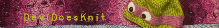 Devi does knit logo