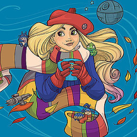 Karen Hallion illustrations logo