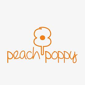 Peach poppy co logo