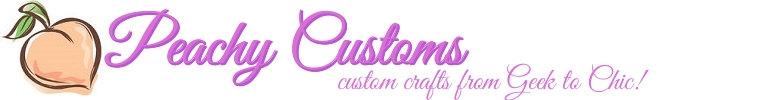 Peachy customs logo