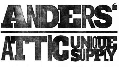 anders attic unique supply logo