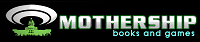 Mothership books and games logo