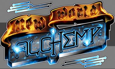 new world alchemy games logo