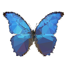 the blue butterfly emporium logo