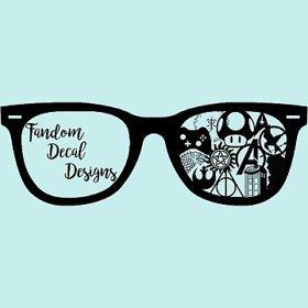 Fandom decal designs logo