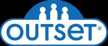 Outset media logo