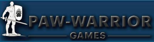 Paw warrior games logo