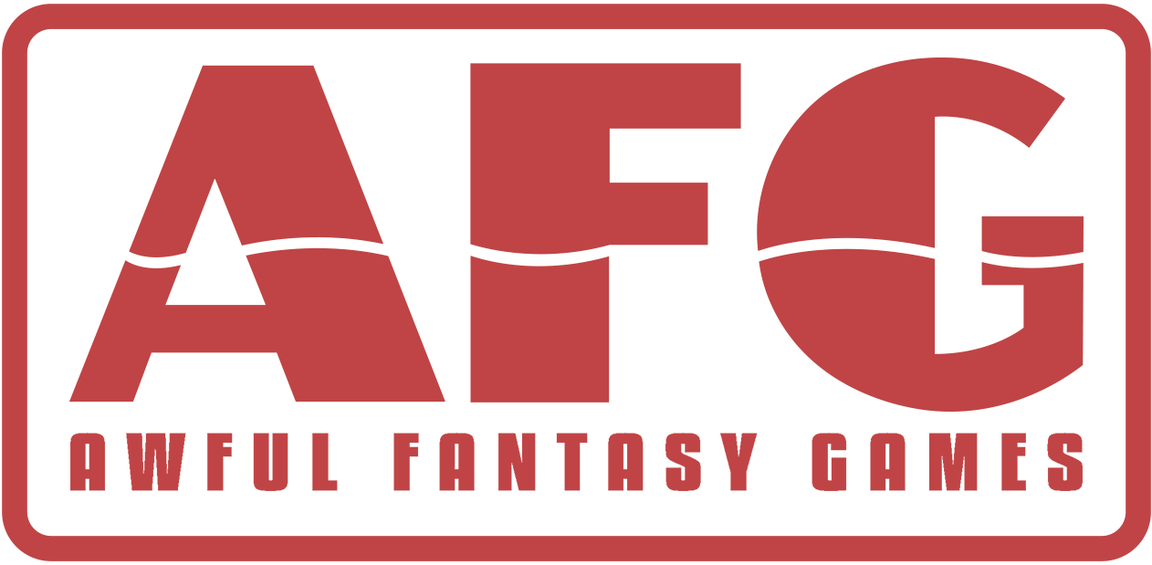 Awful Fantasy Games logo