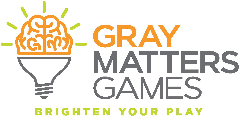 Gray Matters games logo