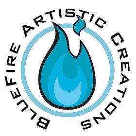 Bluefire engravings logo