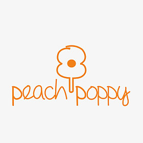 Peach poppy co logo