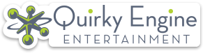 Quirky Engine Entertainment logo