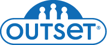 Outset media logo