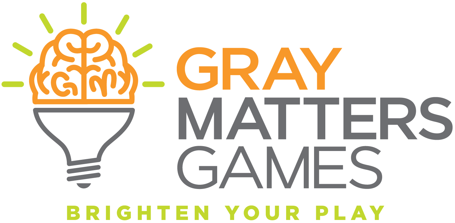 Gray Matters games logo